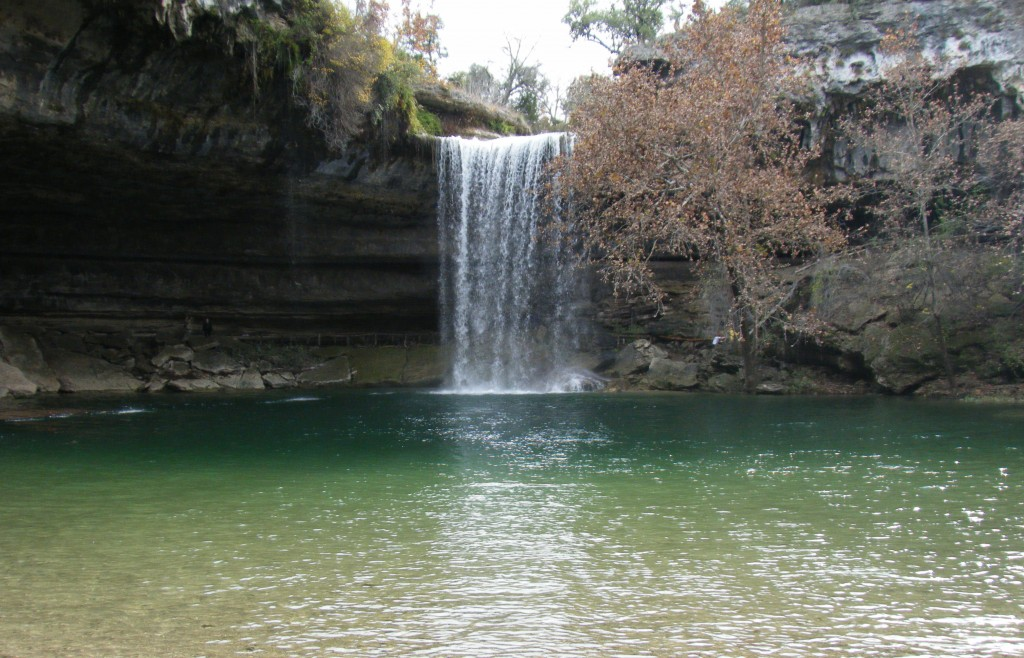 Hamilton Pool Waterfall photo by Julian Garduno, Licensed Under the Creative Commons Attribution 2.0 Generic http://www.flickr.com/photos/zennomad/4268138458/