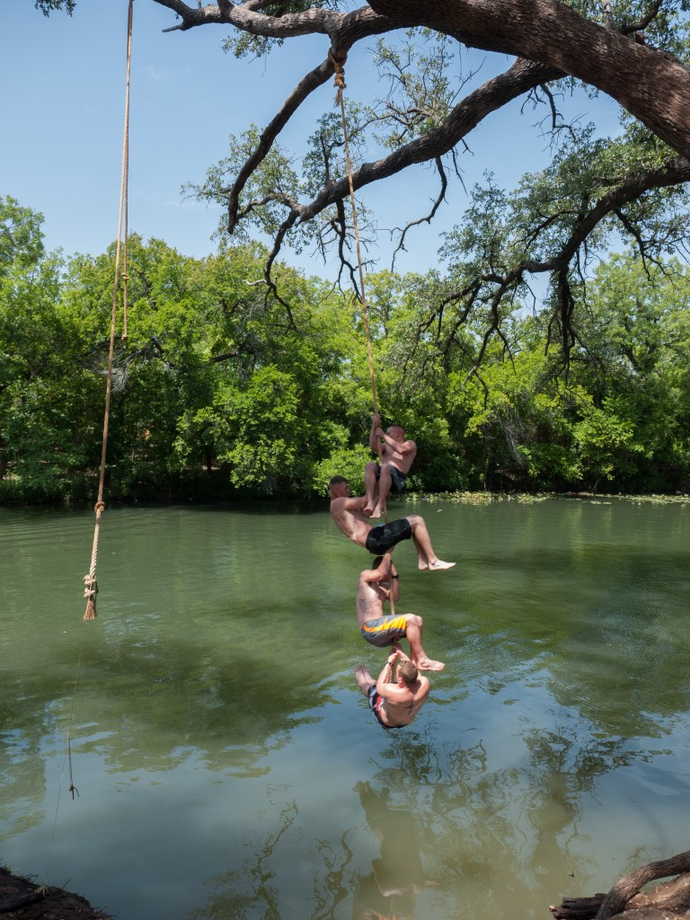 Rope Swing at Christoval